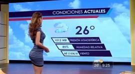 ZBOG OVE GUZE svi muškarci gledaju vremensku prognozu! (VIDEO)