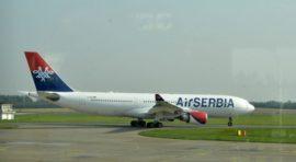 ISTORIJSKI MOMENAT: Posle 24 godine poleteo avion iz Beograda za Njujork! (FOTO) (VIDEO)