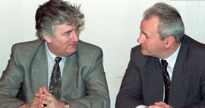 VIDEO/Milosevic i Karadzic