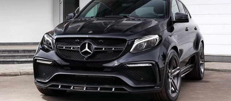 TOP CAR INFERNO: Mercedes GLE Coupe na steroidima