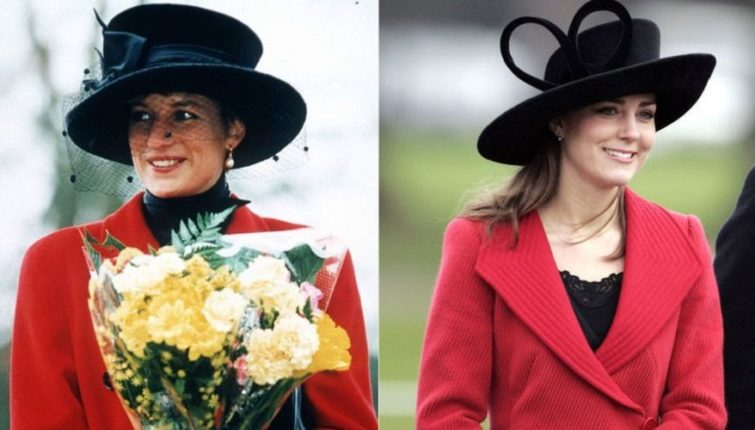 Iste: Skoro pa identične modne kombinacije princeza Dajane i Kejt