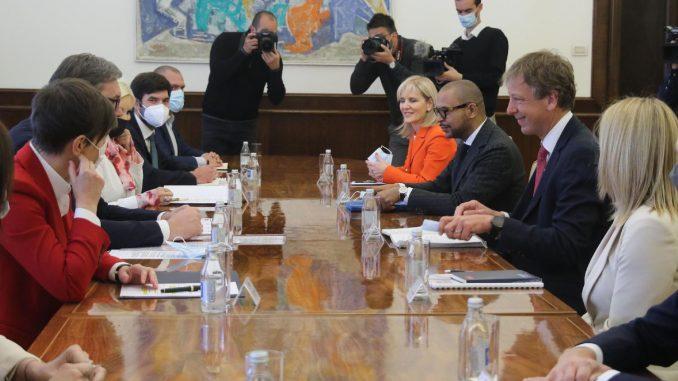 Vučić sa predstavnicima kompanije Rio Tinto: Svi projekti moraju da zadovolje ekološke standarde
